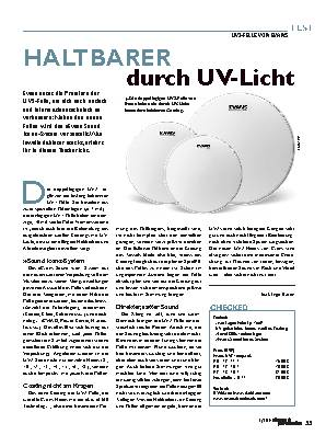 HALTBARER durch UV-Licht