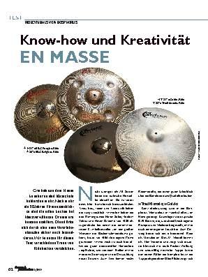 Know-how und Kreativität EN MASSE
