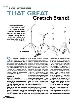 THAT GREAT Gretsch Stand?