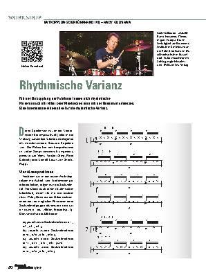 Rhythmische Varianz
