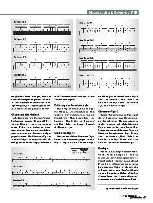 Ghostnote-Variationen