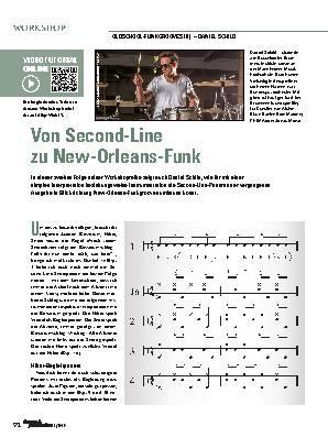 Von Second-Line zu New-Orleans-Funk