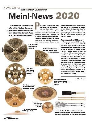 Meinl-News 2020