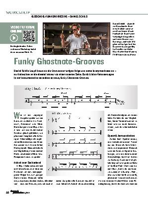 Funky Ghostnote-Grooves