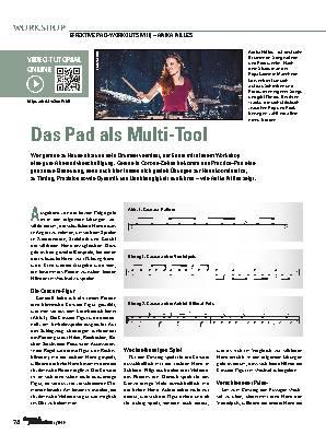 Das Pad als Multi-Tool