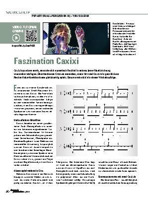Faszination Caxixi