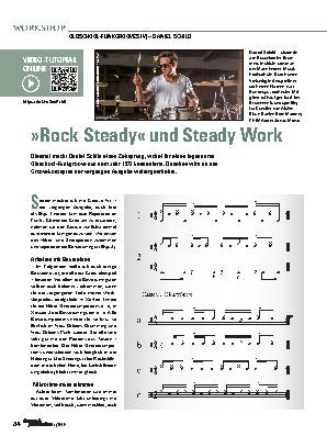 »Rock Steady« und Steady Work