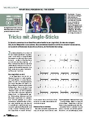 Tricks mit Jingle-Sticks