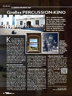 Großes PERCUSSION-KINO
