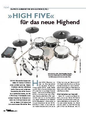 »HIGH FIVE«  für das neue Highend