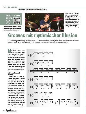 Grooves mit rhythmischer Illusion