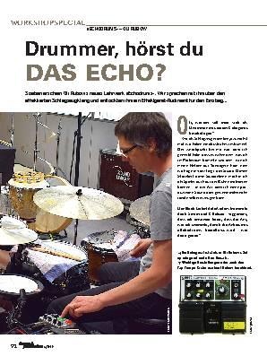 Drummer, hörst du DAS ECHO?