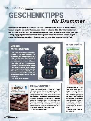 GESCHENKTIPPS für Drummer