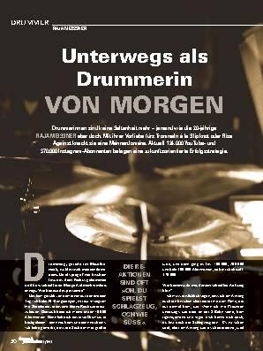 Unterwegs als Drummerin VON MORGEN