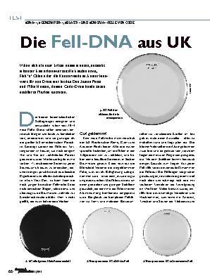 Die Fell-DNA aus UK