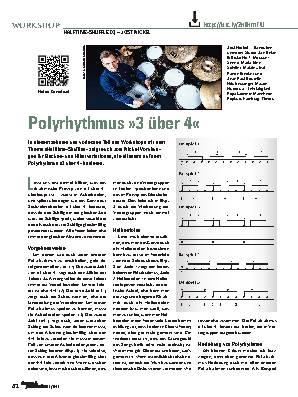 Polyrhythmus »3 über 4«