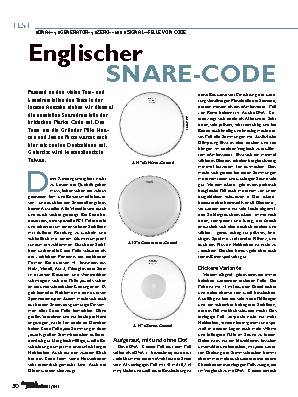 Englischer SNARE-CODE