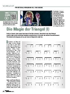 Die Magie der Triangel (I)