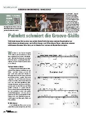 Palmfett schmiert die Groove-Skills