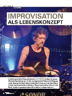 IMPROVISATION ALS LEBENSKONZEPT