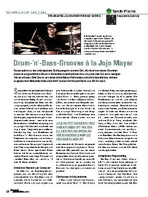 Drum-'n'-Bass-Grooves à la Jojo Mayer