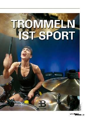 TROMMELN IST SPORT