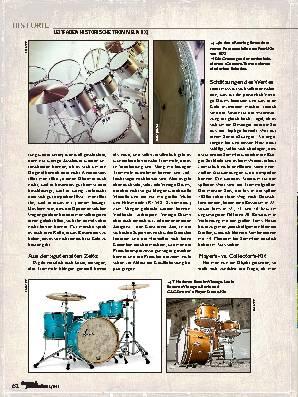 PRAKTISCHER UMGANG mit Vintage-Drums