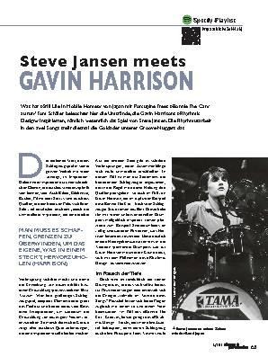 Steve Jansen meets GAVIN HARRISON