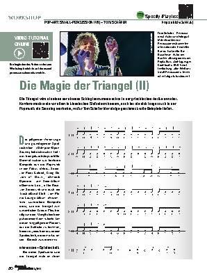 Die Magie der Triangel (II)