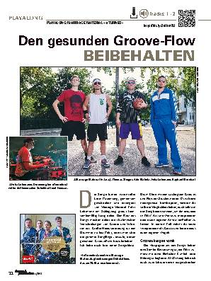 Den gesunden Groove-Flow BEIBEHALTEN