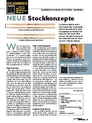 NEUE Stockkonzepte