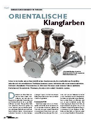ORIENTALISCHE  Klangfarben