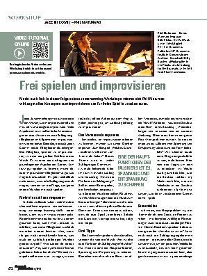 Frei spielen und improvisieren