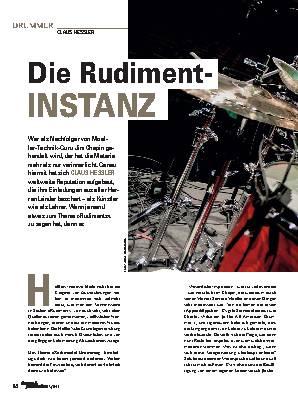 Die Rudiment-INSTANZ