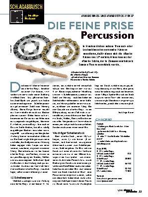 DIE FEINE PRISE Percussion