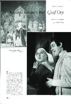 Rossinis heitere Oper Graf Ory
