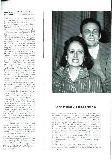 Lorin Massel und seine Frau Mimi
