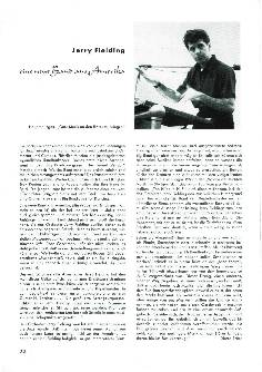 Jerry Fielding - eine neue Band aus Amerika