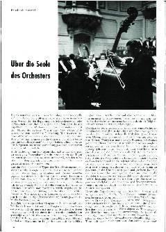 Über die Seele des Orchesters