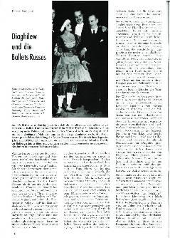 Diaghilew und die Ballets Russes