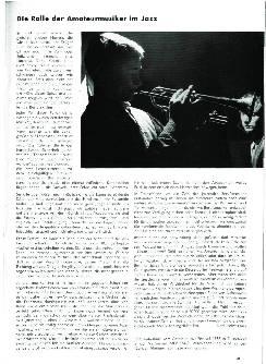 Die Rolle der Amateurmusiker im Jazz
