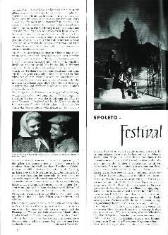 Spoleto-Festival zweier Welten