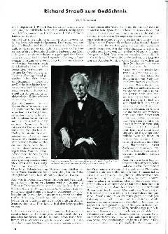 Richard Strauss zum Gedächtnis