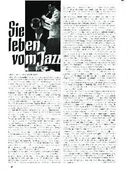 Sie leben vom Jazz