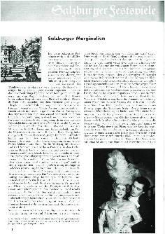 Salzburger Festspiele 1959