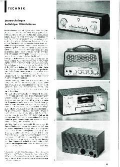 Stereo-Anlagen beliebiger Dimensionen