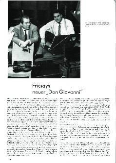 Fricsays neuer Don Giovanni