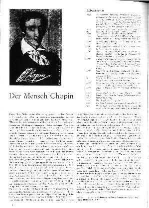 Der Mensch Chopin