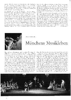 Münchens Musikleben