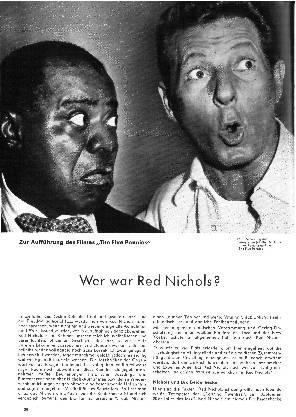 Wer war Red Nichols?